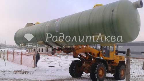 Комбинированный бензомаслоотделитель для Завода в Шабанах
