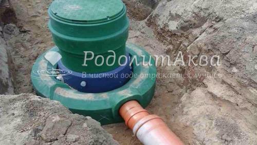 Нефтеотделитель с обвод. линией 6л/с для ТЦ «Модуль» в г.Молодечно