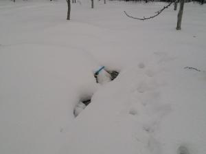 монтаж зимой